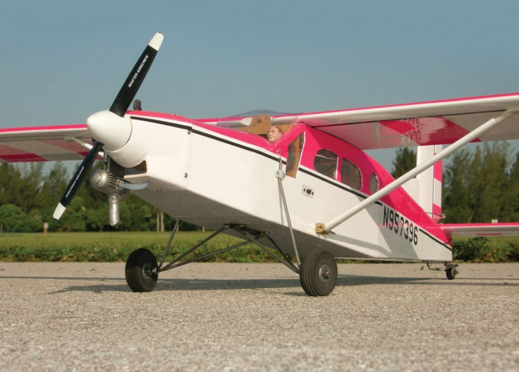 Pilatus Porter PC 6 - 2m model airplane plan
