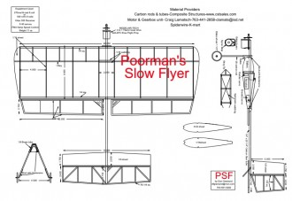 Poormans Slowflyer_PDF ( 26.25 in. / 66.7 cm ) model airplane plan