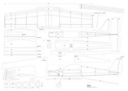 Quark Jumbo model airplane plan
