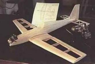 Quark model airplane plan