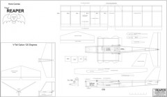Reaper model airplane plan
