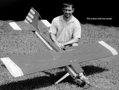 Ryans Rebel model airplane plan