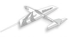 SLIMER 15 model airplane plan