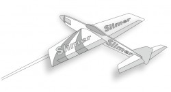 SLIMER 15 model airplane plan