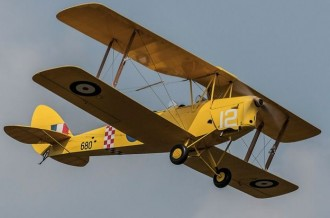 Tiger Moth model airplane plan