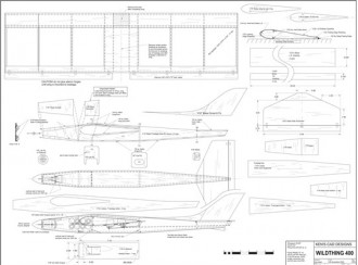 Wild Thing 400 model airplane plan