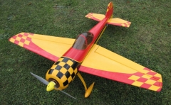 YAK 55M model airplane plan