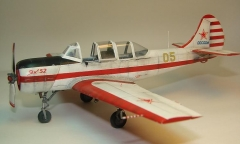Yak-52 model airplane plan