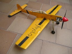 Yeyito model airplane plan