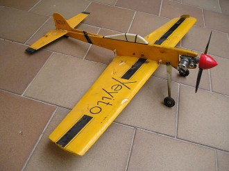 Yeyito model airplane plan