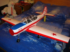 YAK 52 model airplane plan