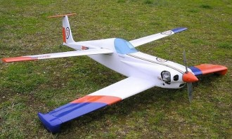 AMS OIL - Quickie model airplane plan