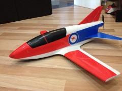BD5 Pusher model airplane plan