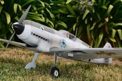 Bf-109d model airplane plan
