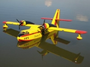 Canadair CL215 model airplane plan
