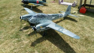 Me-410 model airplane plan