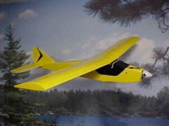 ELECT-J400 model airplane plan