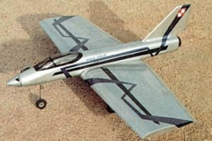 EUROPA model airplane plan
