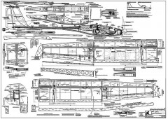 Guppy2 model airplane plan
