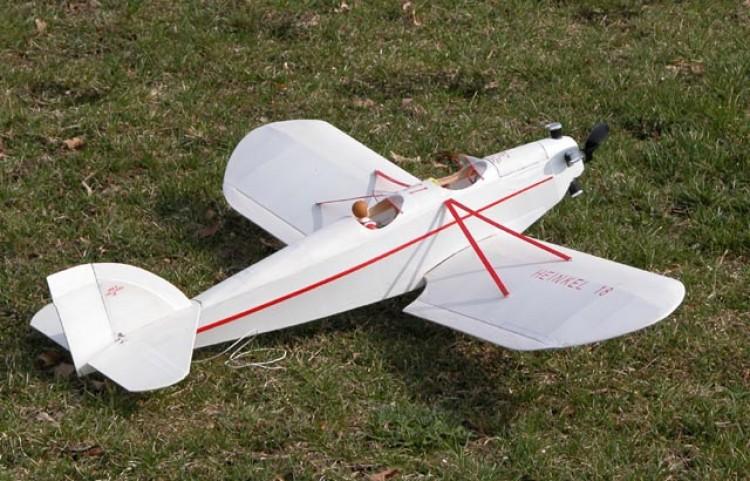 Heinkel HE 18 model airplane plan