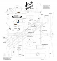 Jasco Spotter model airplane plan