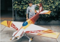 LASER 200 100cc model airplane plan