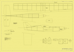MACH 3 model airplane plan