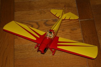 Micro-Spacewalker model airplane plan