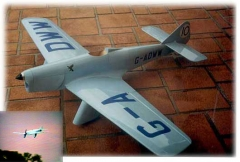 Miles Sparrowhawk M5 model airplane plan
