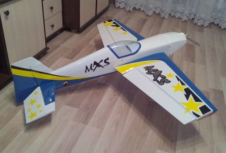 MXS-EP model airplane plan