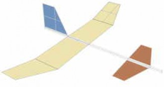 new-glider model airplane plan