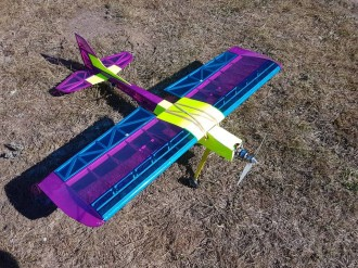 Off-Shoot Sport model airplane plan