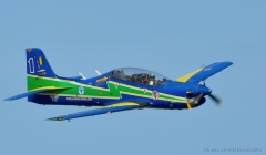 Embraer EMB-312 Tucano model airplane plan