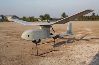RQ 11B RAVEN model airplane plan