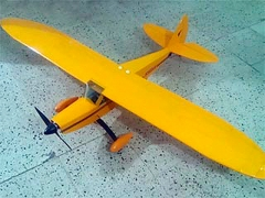 Magneto model airplane plan