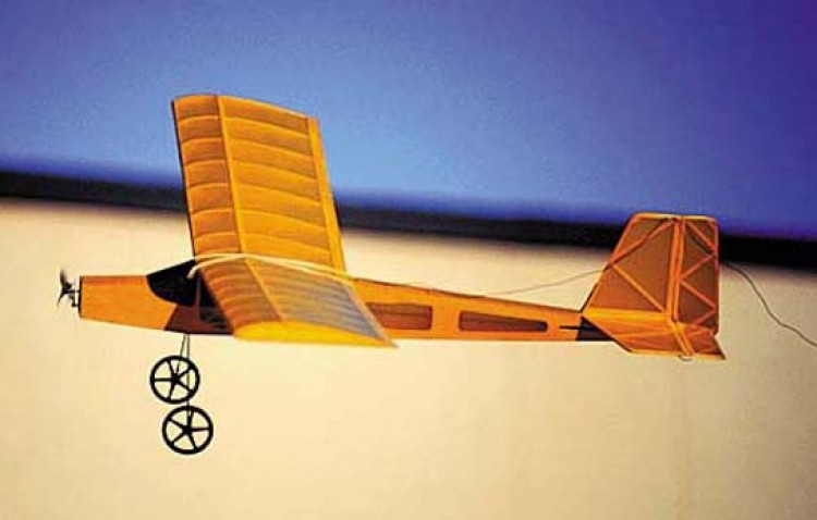 StarLite model airplane plan