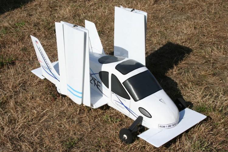 Terrafugia Transition model airplane plan