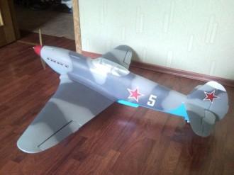 YAK-3 model airplane plan