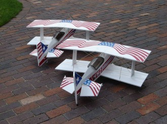 Big Flat Ultimat model airplane plan