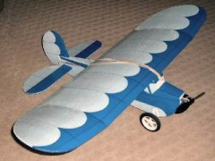 Blazy Bee model airplane plan
