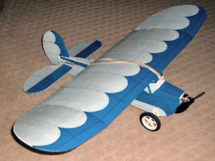 Blazy Bee model airplane plan