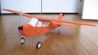 Blu Citabria 33 model airplane plan