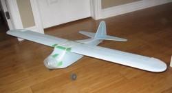 Blu Taylorcraft BC-12D model airplane plan