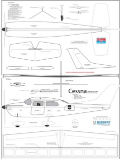 Cessna model airplane plan