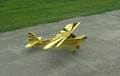3DF Citabria 7GCBC model airplane plan