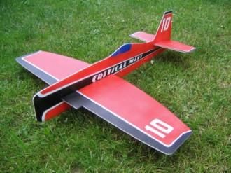 Critical Mass model airplane plan