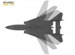 F-14 model airplane plan