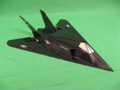 FF-117 model airplane plan