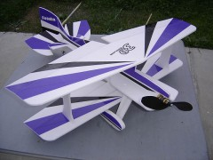 3DB Foame IIX 3D model airplane plan
