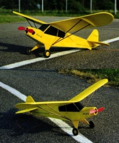 Garden Cub model airplane plan
